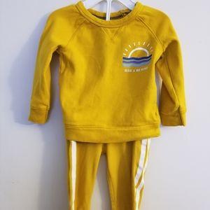 Old Navy Mustard Sweatshirt and Sweatpants